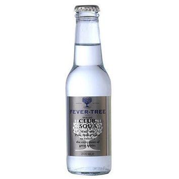 Fever-Tree Club Soda, 6.8 Ounce Glass Bottles (Pack of 24)