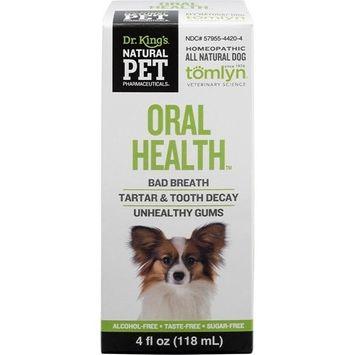 Oral Health for Dog KingBio Natural Pet 4 oz Liquid