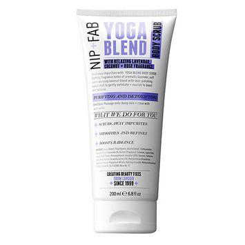 Nip + Fab Nip+Fab Yoga Blend Body Scrub Lavender, Soft Rose, Coconut