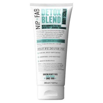 Nip + Fab Detox Blend Body Scrub - 6.8 oz