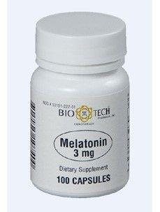 Melatonin 3 mg 100 caps by Bio-Tech