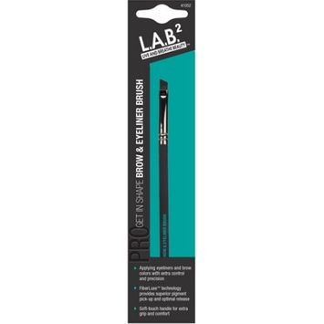 Pacific World Corporation L.A.B.2 Live and Breathe Beauty Get in Shape Brow & Eyeliner Brush