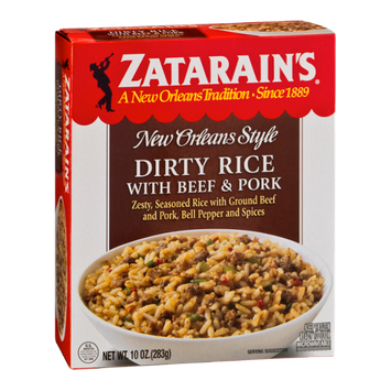 Zatarain's Dirty Rice with Beef & Pork