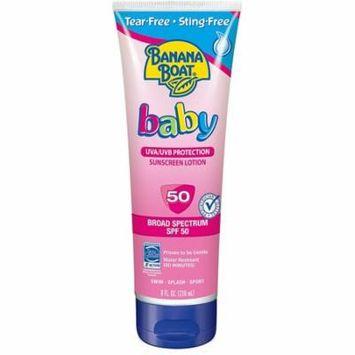Banana Boat Baby Sunscreen Lotion SPF 50 8 oz