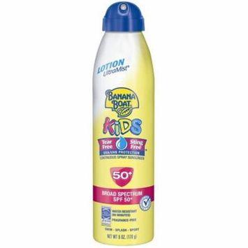 2 Pack - Banana Boat Kids UltraMist Kids Tear Free Sunscreen SPF 50 6 oz