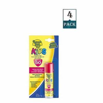 Banana Boat Kids Sunscreen Stick Spf 50.55 Oz Uva/uvb Protection (Pack Of 1)