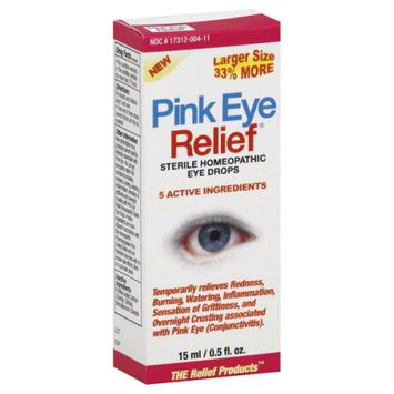 The Relief Products PinkEye Relief Sterile Eye Drops - 0.33 oz.