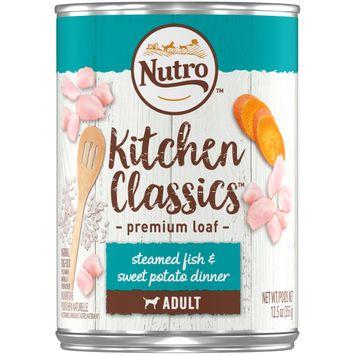Nutro™ Kitchen Classics™ Premium Loaf Steamed Fish & Sweet Potato Dinner Adult Dog Food