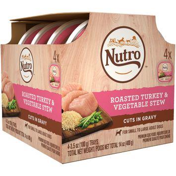 Nutro™ Roasted Turkey & Vegetable Stew Cuts In Gravy Dog Food