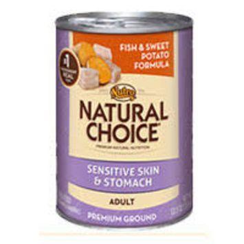 Natural Choice Fish & Sweet Potato Dog Can