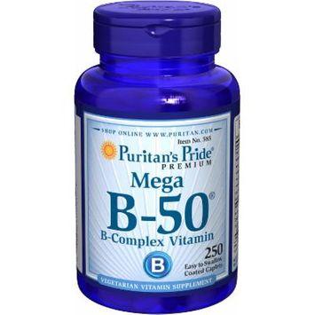 Puritan's Pride Vitamin B-50 Complex-250 Caplets
