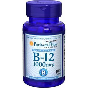 Puritan's Pride Vitamin B-12 1000 mcg Timed Release-100 Caplets