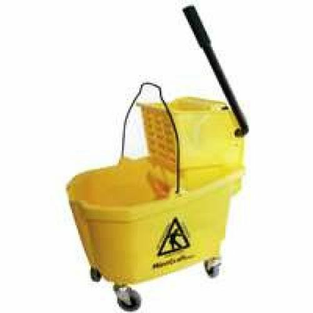 Mintcraft Pro 9130 Pro Mop Bucket 32-Quart With Ringer Professional - Each