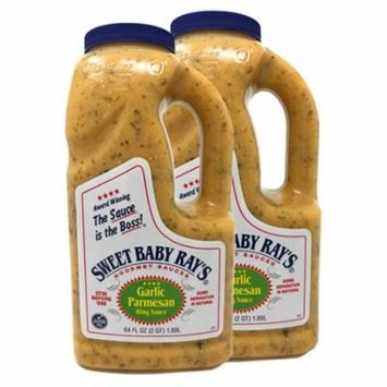 Sweet Baby Ray's 64 ounce Wing Sauce 2 Pack Garlic Parmesan