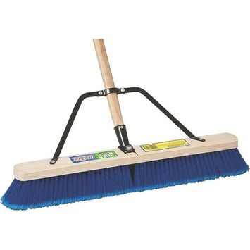 MintCraft Pro 1426AJOR Push Broom with Brace 24-Inch In/Out