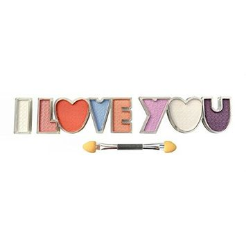 Giovi Boutique Multi-Palette Brush-on Eye Shadow Letters