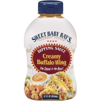 Sweet Baby Ray's, Creamy Buffalo Wing Dipping Sauce, 12oz Bottle (Pack of 3)