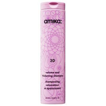 amika 3D Volume and Thickening Shampoo 8 oz/ 236 mL