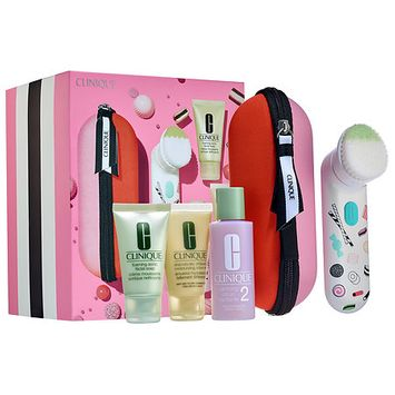 Clinique Sweet Sonic Cleansing Brush Set for Drier Skin