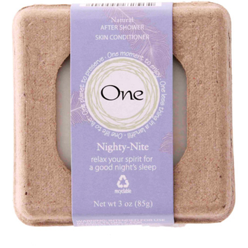 One Natural After Shower Skin Conditioner Bar