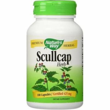 Nature's Way Scullcap Herb Capsule, 100 CT