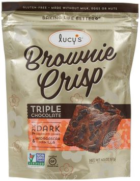 Dr Lucys CRISPS, CHOCOLATE BROWNIE, (Pack of 8)