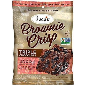 Dr Lucys CRISPS, CHOCOLATE BROWNIE, (Pack of 24)