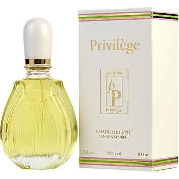 PRIVILEGE by Privilege EDT SPRAY 3.3 OZ for WOMEN -(Package Of 4)