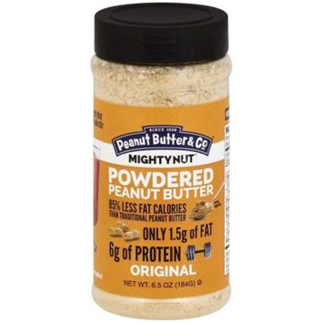 Peanut Butter & Co Mighty Nut Original Powdered Peanut Butter, 6.5 oz, (Pack of 6)