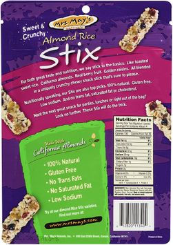 mrs May's Naturals® Almond Rice Stix Cran-Blueberry