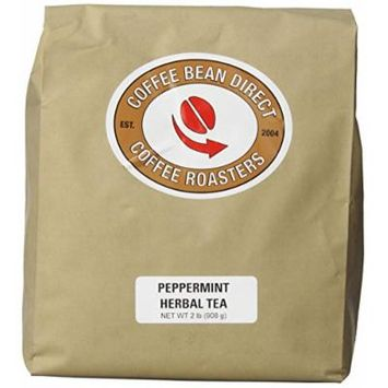 Coffee Bean Direct, Herbal Peppermint, Loose Leaf Tea, 2 Pound Bag