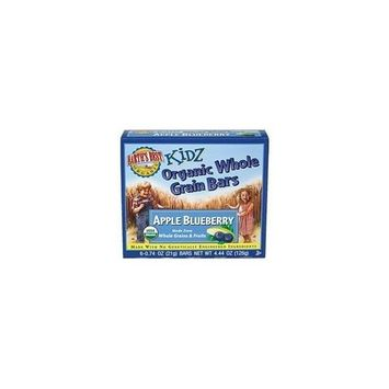 Earth's Best Kidz Organic Whole Grain Bars, Apple Blueberry, 4.4-Ounce Boxes (Pack of 12)