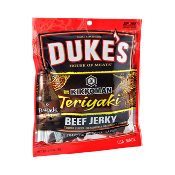 Duke's House of Meats Kikkoman Teriyaki Beef Jerky