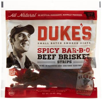 Duke's Jerky Steak Strips Spicy Barbecue