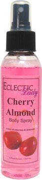 Eclectic Lady Cherry Almond Body Spray, 4 ounces