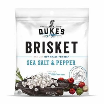 Duke's Traditional Sea Salt & Pepper Beef Brisket Strips, 2.5 Oz