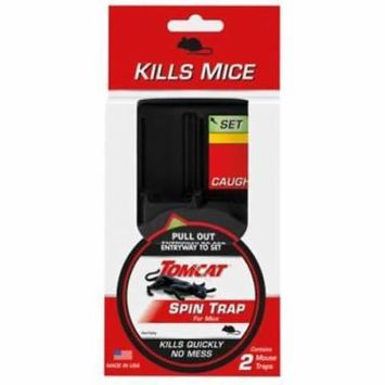 Tomcat 2 Count Spin Mouse Trap Kills Instantly 2PK