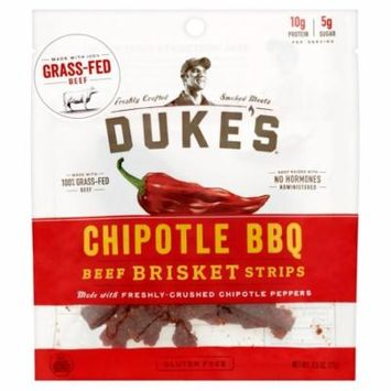 Dukes Strips Beef Chipotle Bbq,2.5 Oz (Pack Of 8)