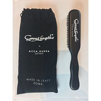 Great Lengths Travel Brush by ACCA KAPPA Made in Italy Wood and Boar Bristle
