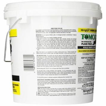 MOTOMCO Tomcat Mouse and Rat Pack/Pail, 3-Ounce, 22 Count Pail - 22-Pack