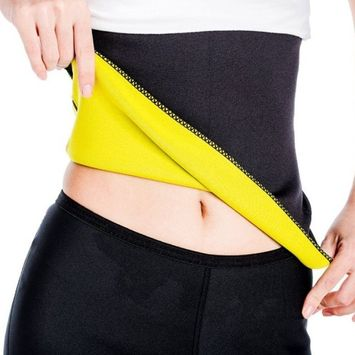 Tonewear Women's Shapewaer Belt Used for Exercise help in reducing belly fat(Black)(small)