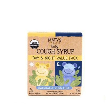 Maty's Organic Baby Cough Syrup – Day & Night Value Pack
