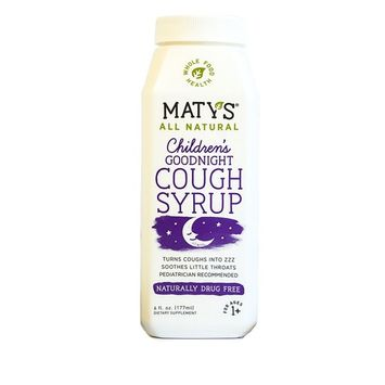 Maty's All Natural Children's Goodnight Cough Syrup