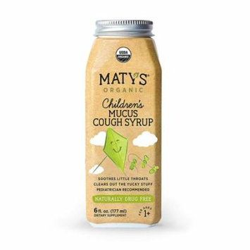 Maty's Organic Children's Mucus Cough Syrup