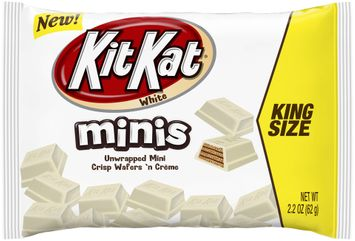 kit kat® minis white chocolate wafers king size candy
