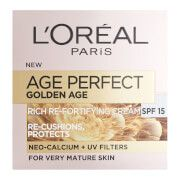 Skinceuticals L'Oréal Paris Age Perfect Golden Age Rich Refortifying Cream - SPF15 (50ml)