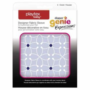 Playtex Diaper Genie Expressions Diaper Pail Fabric Sleeve - Blue Tile