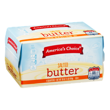 America's Choice Salted Butter - 4 CT