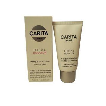 Carita Cleanser 1.69 Oz Ideal Douceur Cotton Mask (Sensitive Skin) For Women
