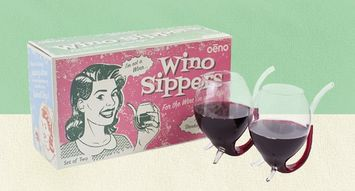 Kiss Wine-Stained Teeth Goodbye With This New Product